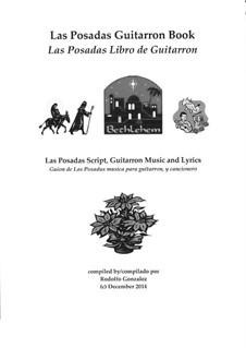 Las Posadas Guitarron Book: Las Posadas Libro de Guitarron: Las Posadas Guitarron Book: Las Posadas Libro de Guitarron by folklore
