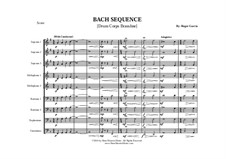 Bach Sequence: Drum corps by Johann Sebastian Bach