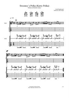 Sweeney's Polka (Kerry Polka): For guitars by folklore