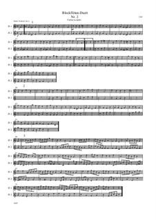 Blockflöten-Duett Nr.2: Blockflöten-Duett Nr.2 by Friedrich Gross