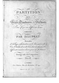 Trios, Quartets and Sextets for French Horns: Trios, Quartets and Sextets for French Horns by Louis-François Dauprat