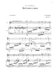 Fifteen Romances, Op.26: No.2 by Sergei Rachmaninoff