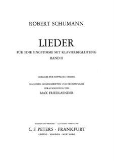 Selected Songs II: Selected Songs II by Robert Schumann
