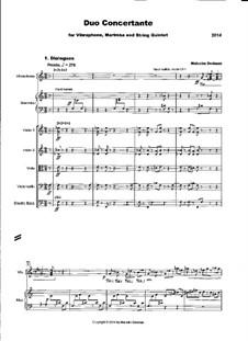 Duo Concertante, MME40: Duo Concertante by Malcolm Dedman