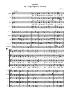 Stabat Mater: No.8 Virgo virginum praeclara by Jehan Vergnaye