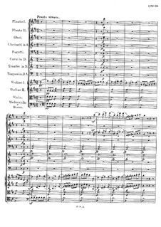 Symphony No.3 in D Major, D.200: Movement IV by Franz Schubert