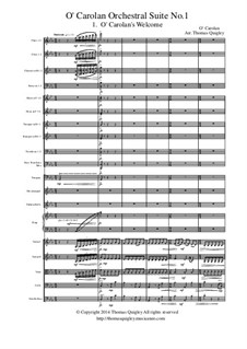 O Carolan Orchestral Suite No.1: Movement I by Turlough O'Carolan