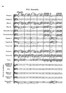 Claudine von Villa Bella, D.239: No.2 Ensemble by Franz Schubert