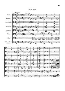 Claudine von Villa Bella, D.239: No.5 Aria by Franz Schubert