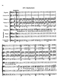 Claudine von Villa Bella, D.239: No.7 Räuberlied by Franz Schubert