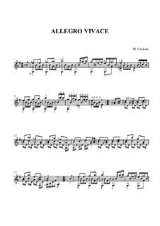 Allegro Vivace: Allegro Vivace by Mauro Giuliani