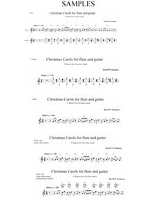 Rupert the chocolate angel (Ruprecht der Schoko-Engel): For flute and guitar by David W Solomons