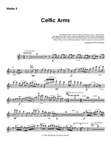 Celtic Arms: Violin 1 part by folklore, Patrick Sarsfield Gilmore, David Braham