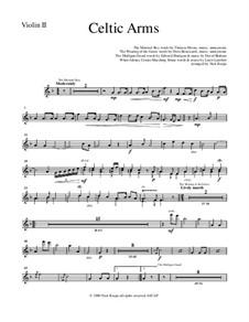 Celtic Arms: Violin 2 part by folklore, Patrick Sarsfield Gilmore, David Braham