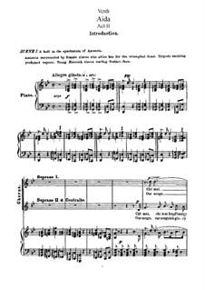 Fragments: Chi mai (Act II, Scene 1) by Giuseppe Verdi