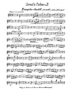Brass Sextet in E Flat Minor, Op.30: Cornet in B part by Oskar Böhme