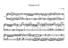 Sonate in G: Sonate in G by Volker Arnheiter