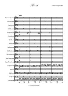 Havet: For brass band by Alexander Nævdal