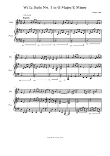 Waltz Suite No.1 in G Major: Waltz Suite No.1 in G Major by Wade Allen