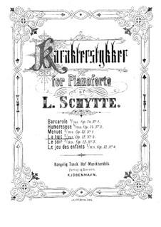 Fire karakterstykker (Four Character Pieces), Op.12: No.2 La nuit by Ludvig Schytte