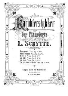 Fire karakterstykker (Four Character Pieces), Op.12: No.3 Le soir by Ludvig Schytte