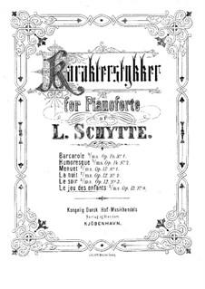 Fire karakterstykker (Four Character Pieces), Op.12: No.4 Le jeu des enfants by Ludvig Schytte