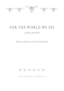 The World We See: The World We See by Eva Kendrick