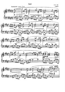 Eight Etudes, Op.42: Etude No.4 by Alexander Scriabin