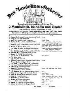Serenade: For mandolin orchestra by Olivier Métra