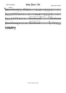 8nde Juni 793: Trombone II part by Alexander Nævdal