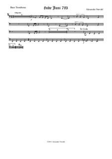 8nde Juni 793: Bass trombone part by Alexander Nævdal