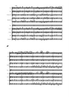 Admetus, King of Thessaly, HWV 22: Cangio d'aspetto, score and parts by Georg Friedrich Händel