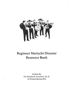 Beginner Mariachi Director Resource Book: Beginner Mariachi Director Resource Book by folklore