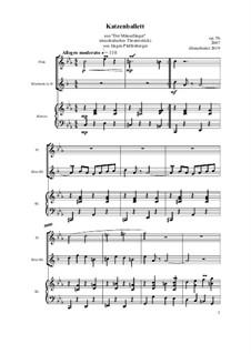 Der Mäusefänger: Katzenballett, Op.05b by Jürgen Pfaffenberger
