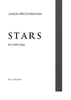 Stars: SATB choir by Jason McChristian