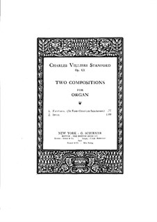 Two Pieces for Organ, Op.121: No.2 Idyll by Charles Villiers Stanford