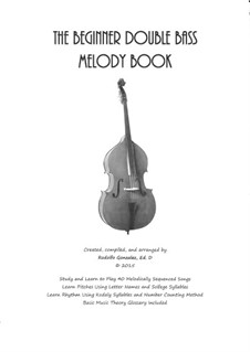 The Beginner Double Bass Melody Book: The Beginner Double Bass Melody Book by folklore