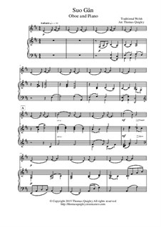 Suo Gan: For oboe and piano by folklore