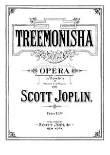 Treemonisha: Piano-vocal score by Scott Joplin