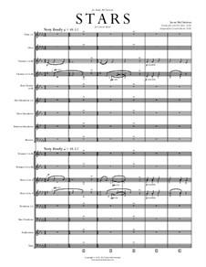 Stars: Concert band by Jason McChristian