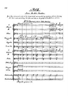 Complete Opera: Act II by Arthur Seymour Sullivan