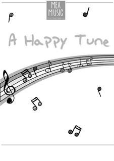 A Happy Tune (Beginner Piano Solo): A Happy Tune (Beginner Piano Solo) by MEA Music