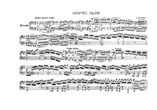String Quartet No.13 in B Flat Major, Op.130: Version for piano four hands by Ludwig van Beethoven
