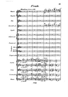 Symphony No.1 in D Major, Op.4: Movement IV by Johan Svendsen