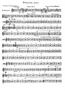 Spanish waltz: Spanish waltz by Émile Waldteufel