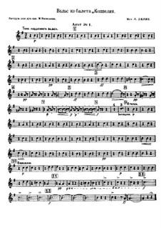 Coppélia, ou La fille aux yeux d'émail: Waltz by Léo Delibes