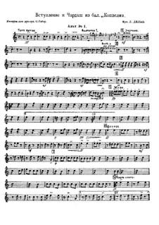 Coppélia, ou La fille aux yeux d'émail: Introduction and Czardas  by Léo Delibes