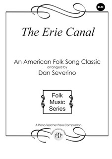 The Erie Canal: For piano by folklore
