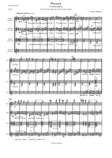 Preveza: For guitar quartet by Kostas Grigoreas