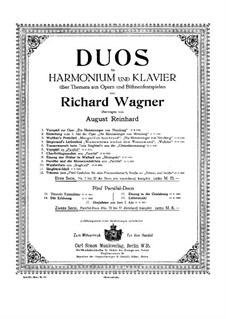 Fragments: Introduction, for harmonium and piano by Richard Wagner